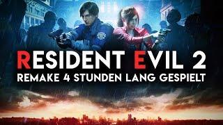 Resident Evil 2 Remake für 4 Stunden gespielt   Exklusives Gameplay & Eindrücke