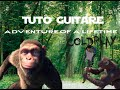 Coldplay - Adventure of a lifetime RIFF (tuto) cours de guitare avec tab