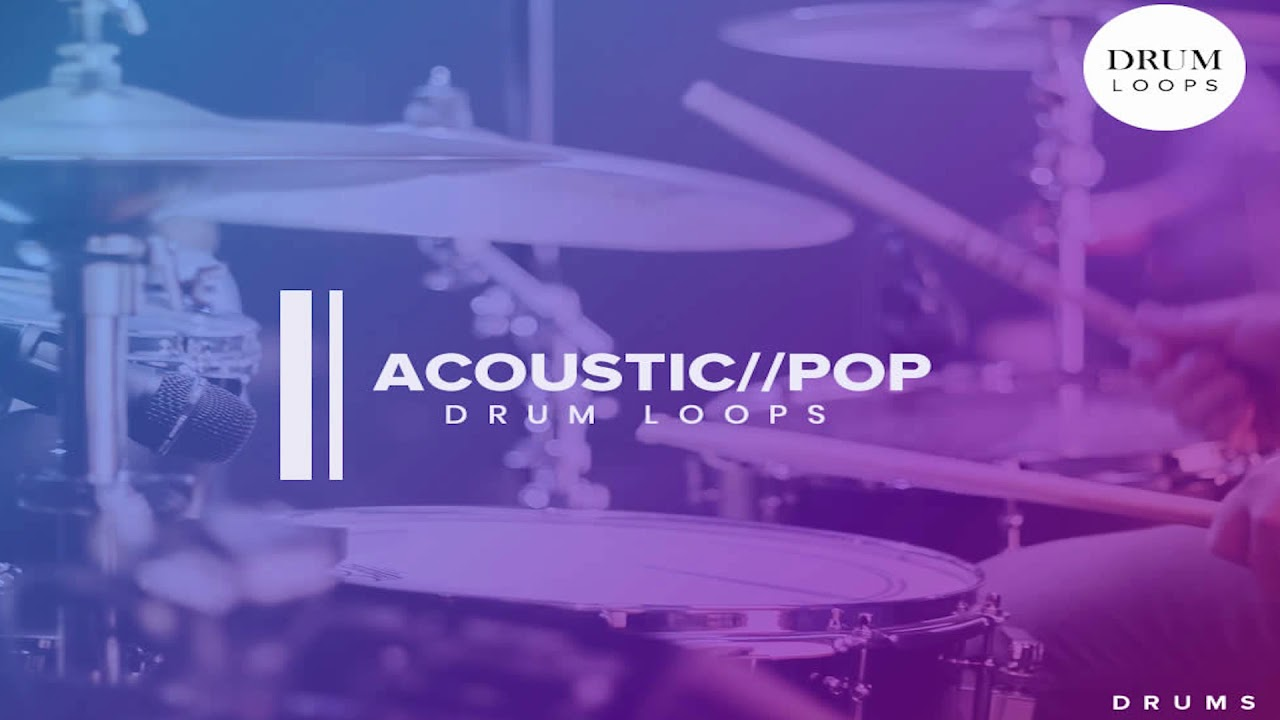 Free Sample Pack | Pop Acoustic | Drum Loops | Free Download