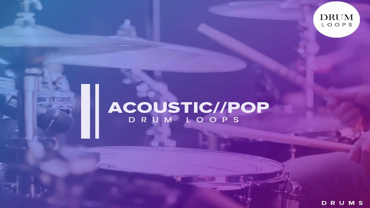 Free Sample Pack | Pop Acoustic | Drum Loops | Free Download
