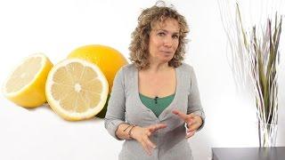 Acqua e limone al mattino secondo il metodo Oberhammer