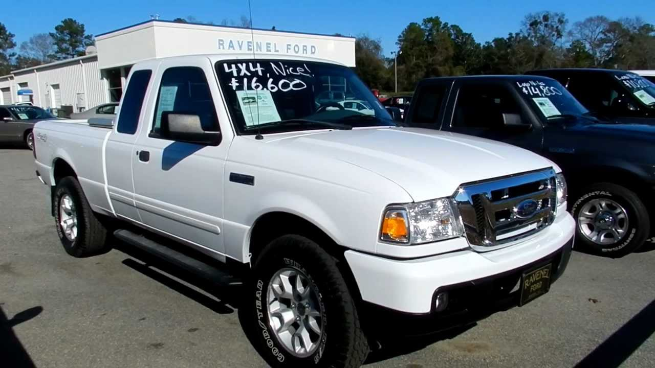 2007 ford ranger xlt supercab 4x4 leather for sale ravenel ford youtube