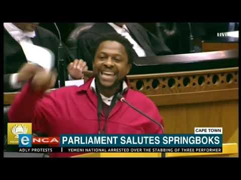 EFF's MbuyiseniNdlozi lashes out at Springboks
