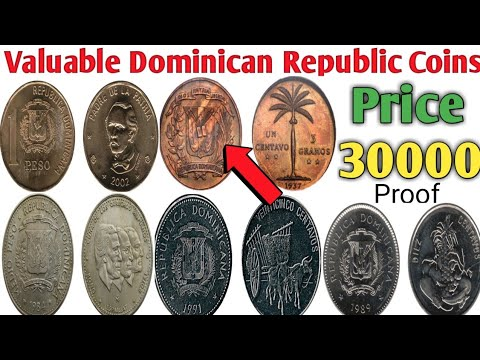 Dominican Republic Most Valuable Coins