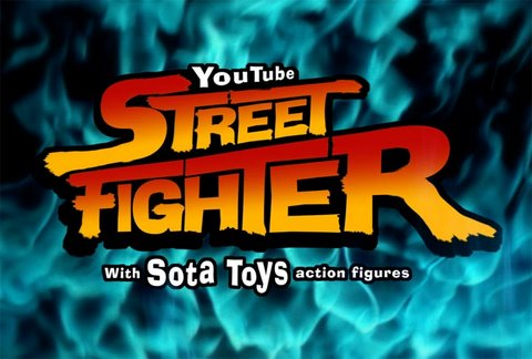 Jogue Street Fighter no Youtube