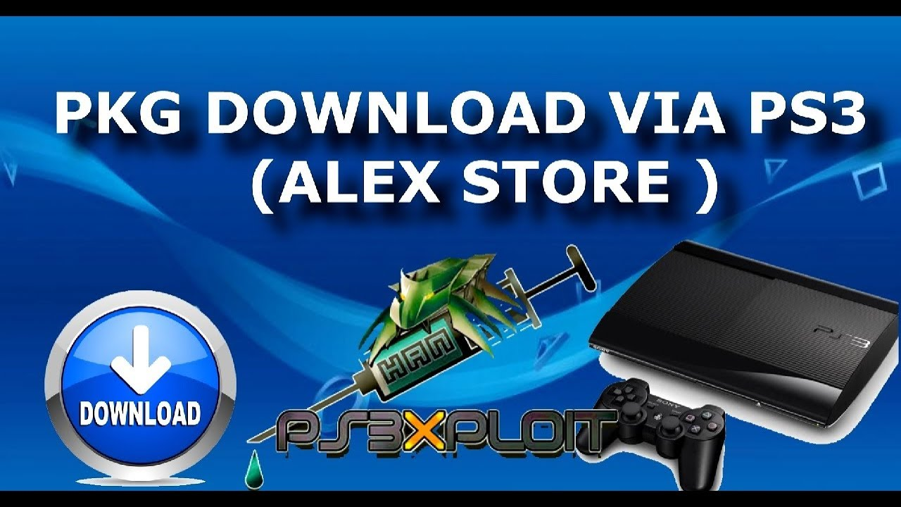 DESBLOQUEIO PS3:DOWNLOAD PKG DIRETO PELO PS3 PKG 4+(ALEX STORE) BLACK PSN  STORE PS3 XPLOIT 3 0