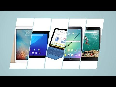 Лучшие планшеты 2016 года: ТОП 5