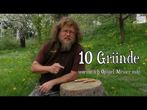 10 Top-Gründe für ein Opinel-Messer