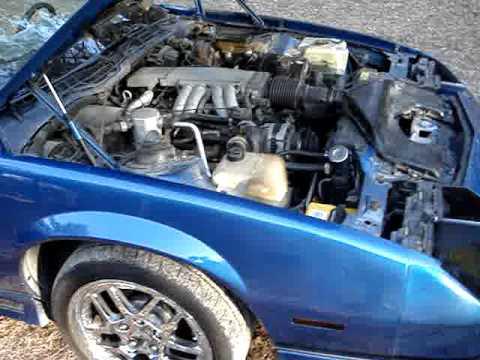My 1989 Chevrolet Camaro Z28 IROC Z V8 TPI 350cui Cor