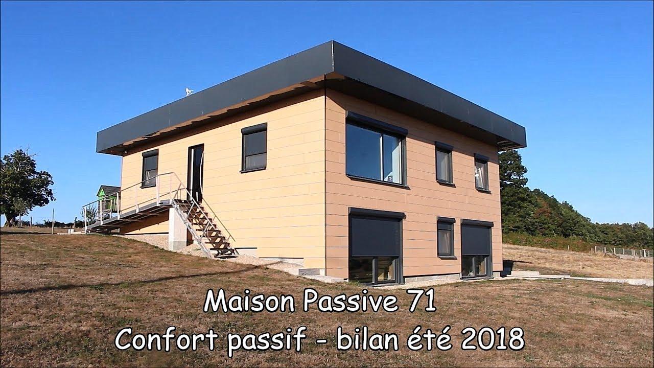 Passive comfort summer 2018 report maison passive 71
