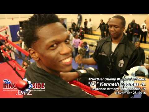 """K2"" Kenneth Thomas Jr.'s Pro Debut - November 28, 2015"