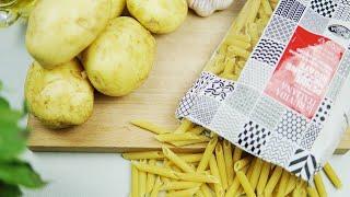МАКАРОНЫ И КАРТОШКА Получается ТАК ВКУСНО Рецепт от Производителя Итальянской пасты