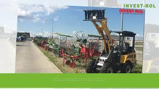 Ciągniki pług kombajn zbożowy Czarnocin Invest-Rol