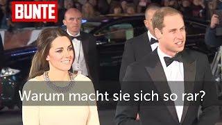 Herzogin Kate - Warum macht sie sich so rar?  - BUNTE TV
