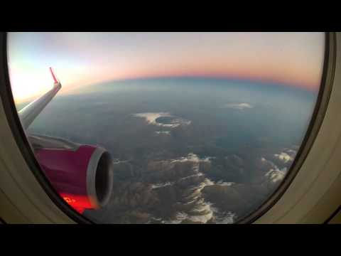Budapest - Dubai(Dubaj) flight/repülés