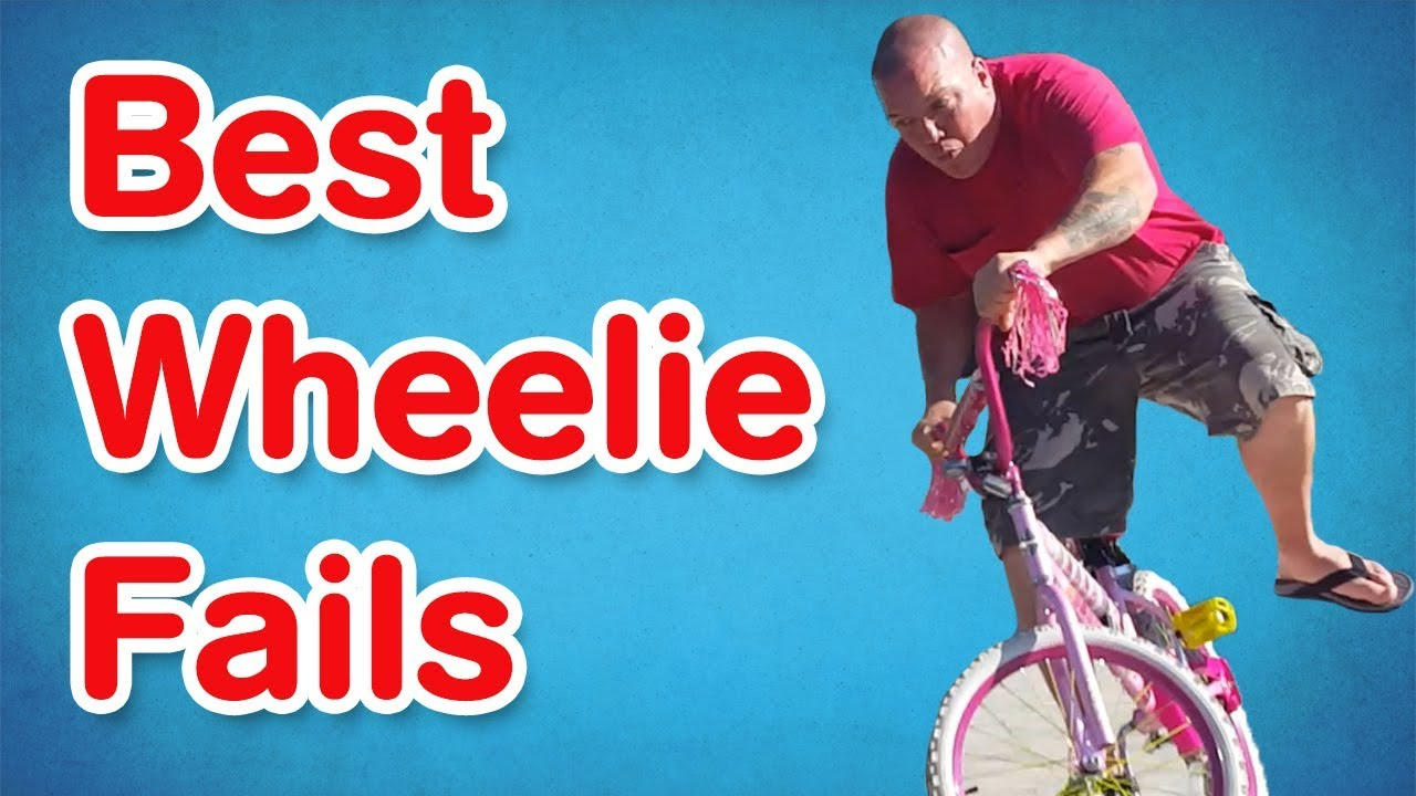 Greatest Wheelie Fails   Humorous Fail Compilation