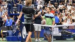 Alexander Zverev vs Diego Schwartzman   US Open 2019 R4 Highlights