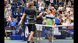 Alexander Zverev vs. Diego Schwartzman | US Open 2019 R4 Highlights