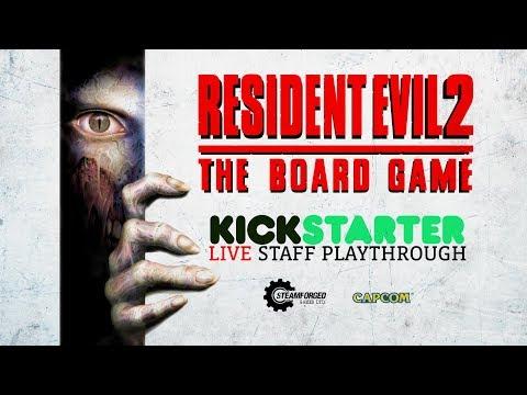 Resident Evil™ 2: The Board Game - Kickstarter Launch Playthrough