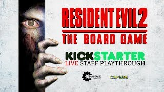Resident evil™ 2: the board game - kickstarter launch playthrough