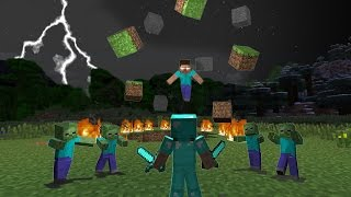 How To Spawn Herobrine In Minecraft 1.8.7 [Very Easy] , [No Mods] [Not Fake] !!!