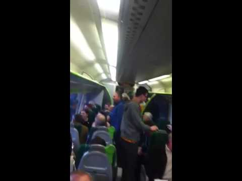 Train worker's Telford 'gipsies and pickpockets' announcment