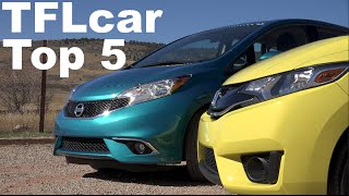 Top 5 Small Cars for Small Families Reviewed