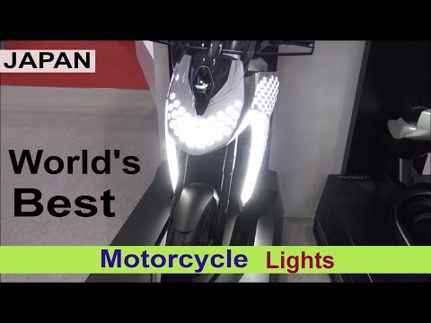 World's best Motorcycle lights - JAPAN High Tech