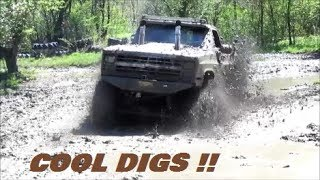 5/19 :   WOLF SPRINGS /  TRUCKS IN SMALL MUD BOG AREA