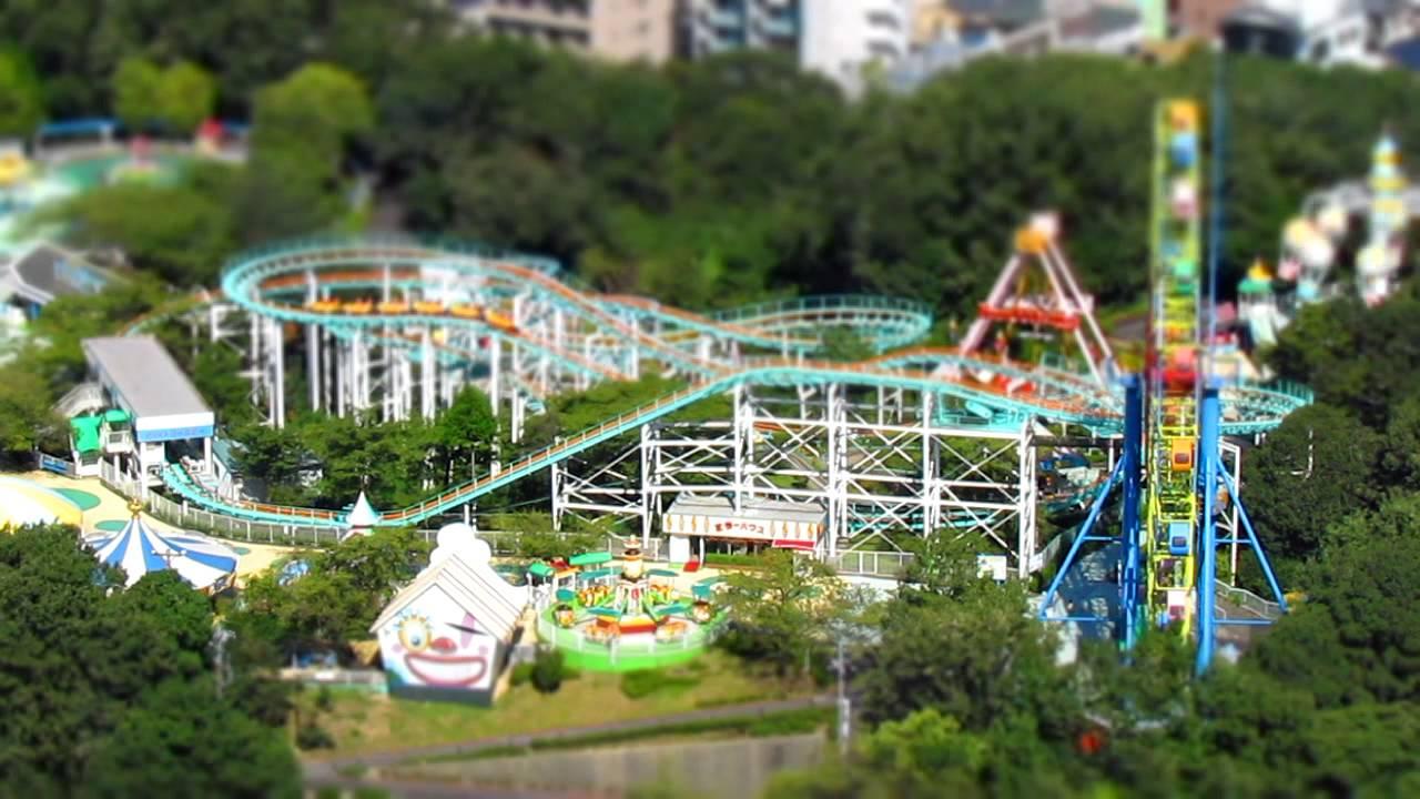 東山動植物園 遊園地 ジオラマ風モード動畫 Canon PowerShot SX30IS - YouTube
