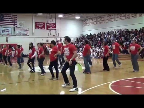Annandale High School Teacher Flashmob 2016