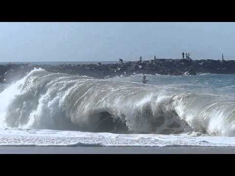Newport Beach, CA, Wedge Surf 4ft - 6ft, 4/27/2014 - Part 2