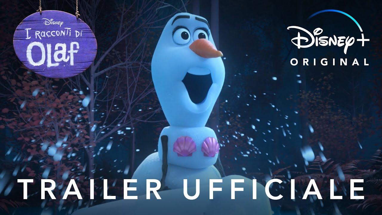 Disney+   I Racconti di Olaf - In Streaming dal 12 Novembre