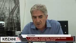Παραίτηση Γ. Χιωτίδη από τη ΝΕ ΣΥΡΙΖΑ Κοζάνης