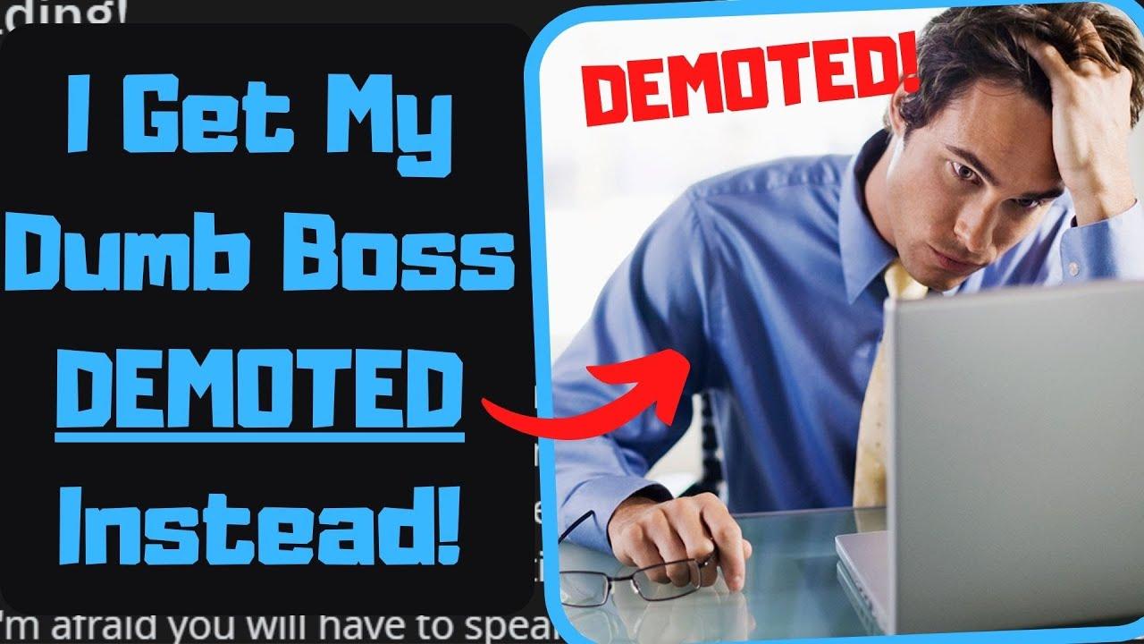 r/ProRevenge - HORRENDOUS Boss Wants a BIG Promotion! Not On My Watch! [Revenge On My Boss]