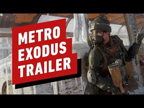 Metro Exodus - Gameplay Overview Trailer