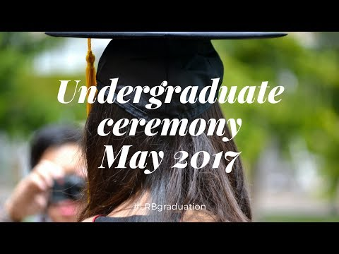 Graduation Ceremony 26 May 2017- Les Roches Global Hospitality Education