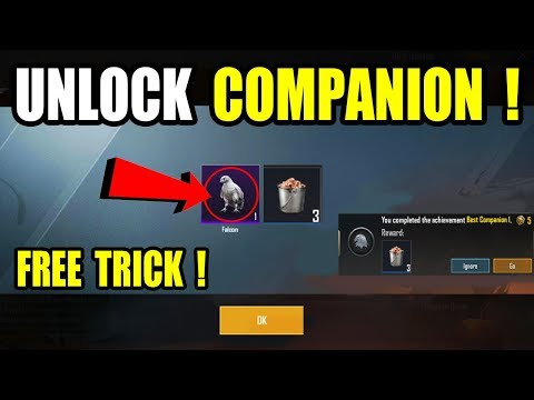 How to unlock Companion in PUBG Mobile ? How To Get Companion in PUBG Mobile ?