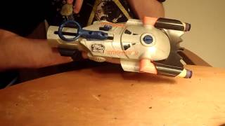 Review: The Vintage Nerf Strongarm cyber strike blaster