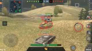 Орущий командир в Blitz
