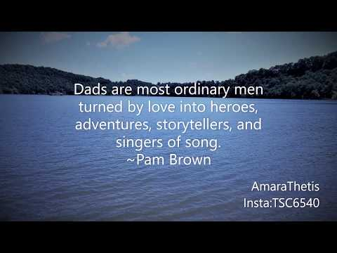 The #appreciation of #fathers are often overlooked. #AmaraThetis #Love #quarantined