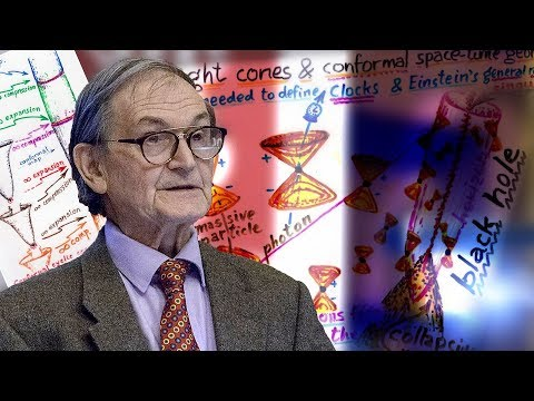 Prof. Sir Roger Penrose - Hawking Points in Cosmic Microwave Background Radiation, Quantum Spacetime