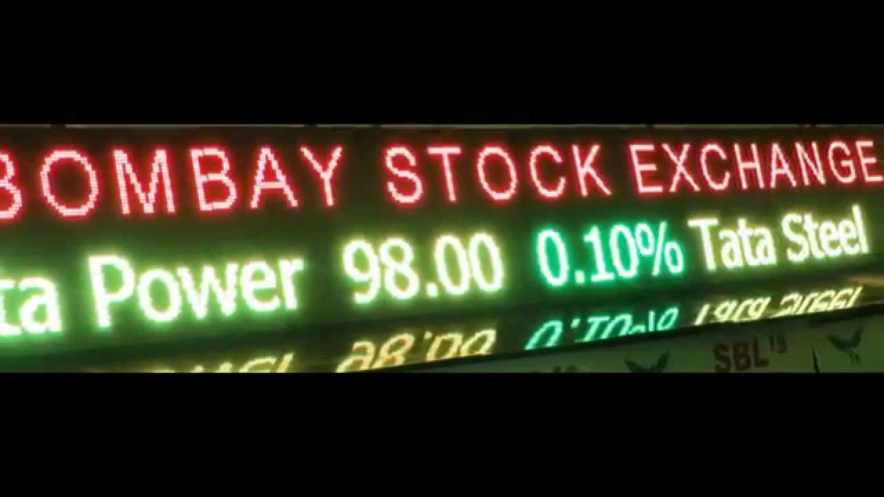 LED STOCK MARKET TICKER TRICOLOR OUTDOOR BSE NSE ...