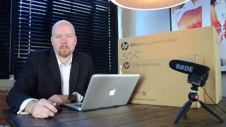 Unboxing the HP Z2 Mini G3 Performance Workstation With 4K