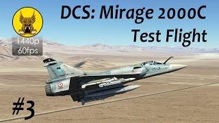 test flight dcs mirage 2000 3 radar modes weapons system controls super 530d missile