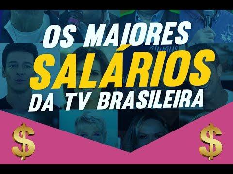 Os maiores salários da TV brasileira - TV FOCO
