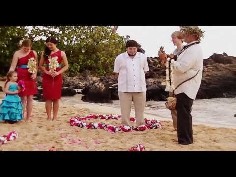 Martin & Jessie Hunt's Maui Wedding Ceremony