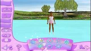 Игра Барби Королева Льда. Катание в розовом саду