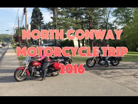 Motorcycle Trip to North Conway 2016 - fixed audio