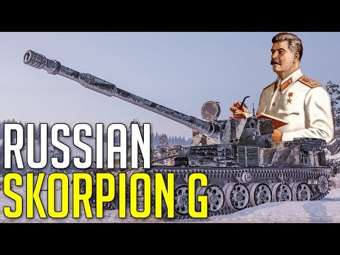 New Russian Skorpion G • SU-130PM • Bias Intensifies ► World Of Tanks SU-130PM Gameplay